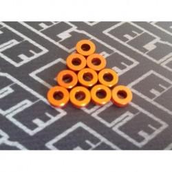 Arandelas naranjas pack 2mm x 10