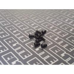 Pack 10,9 tornilleria boton M3 6/8/10/12 100pcs