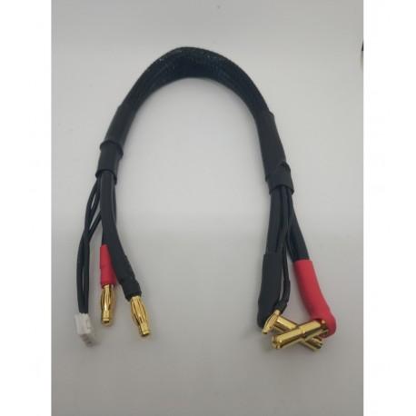 2S Cable de carga 30cm (4/5mm,2mm)(4mm,3PIN-EH)
