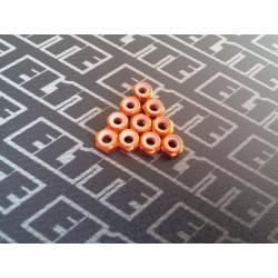 Tuerca naranja con freno M3 x 10