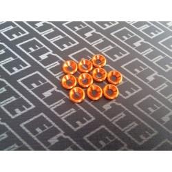 Arandela  Naranja Avellanada m3 10pcs