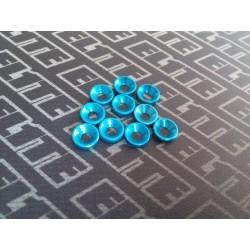 Arandela  Azul Avellanada m3 10pcs